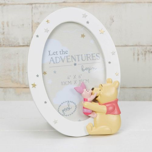 Winnie The Pooh & Piglet Disney Photo Frame Magical Beginnings Baby Gift